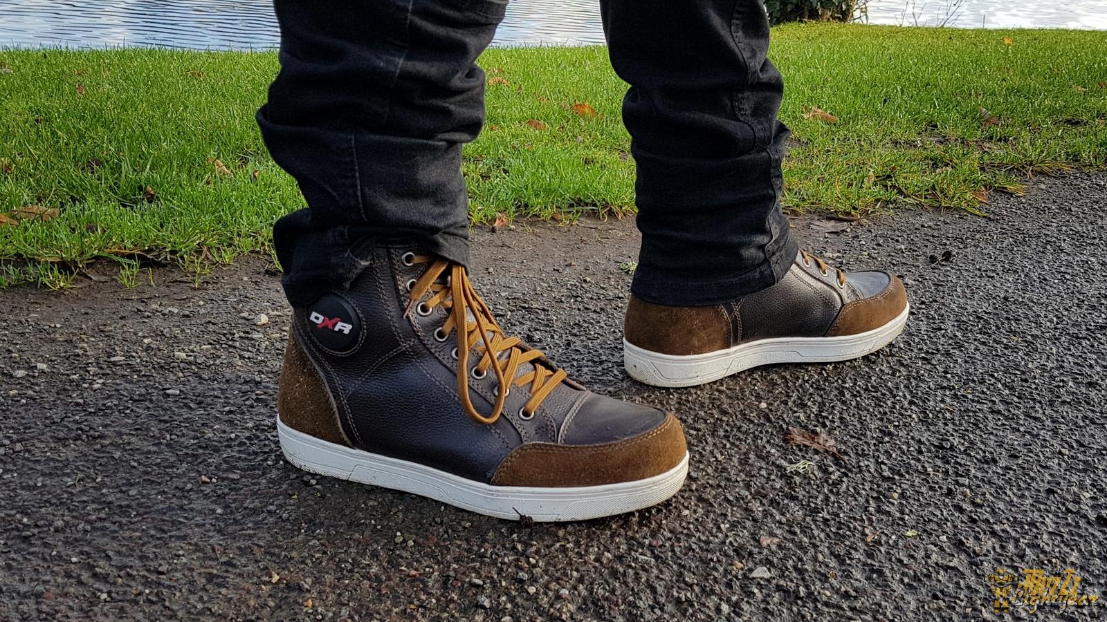 Chaussures DXR Santa Cruz, du style et une belle finition