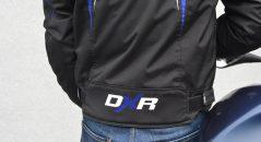 Bas du dos sur le blouson DXR Spanker
