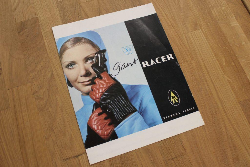 Racer s'est fait un nom dans les années 60-70 avec ses gants de ski