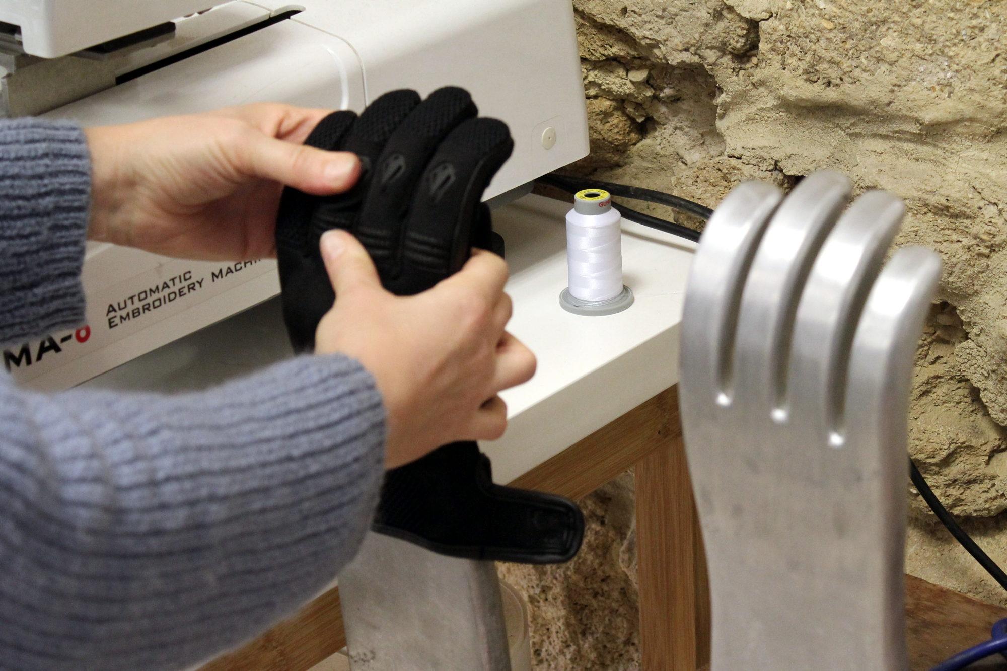 Thermoformage du gant