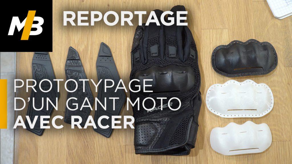 Racer : Prototypage d'un gant moto !
