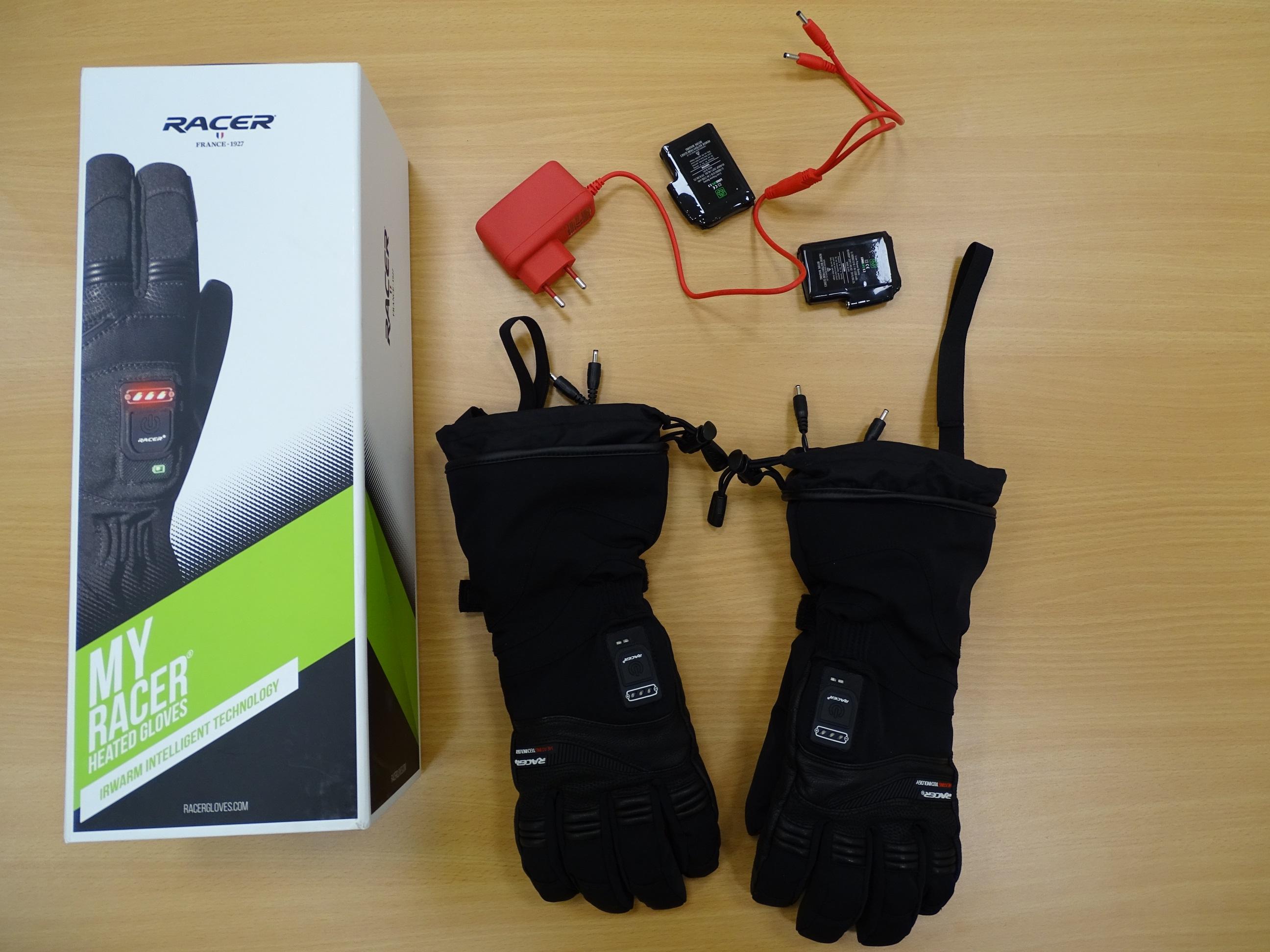 Packaging des gants chauffants Racer Connectic 3