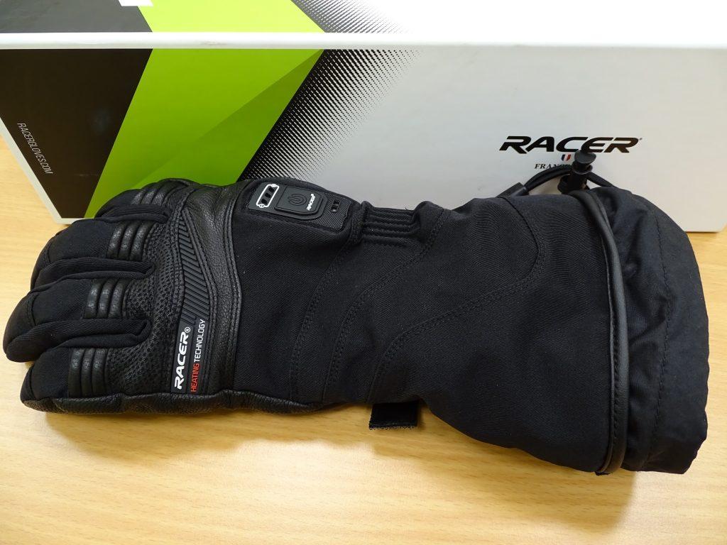 Les gants chauffants Racer Connectic 3, de marque Française.