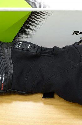 Marque française : les gants chauffants racer connectic 3