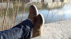 Renfort sélecteur en cuir sur les chaussures V Quattro X-Urban