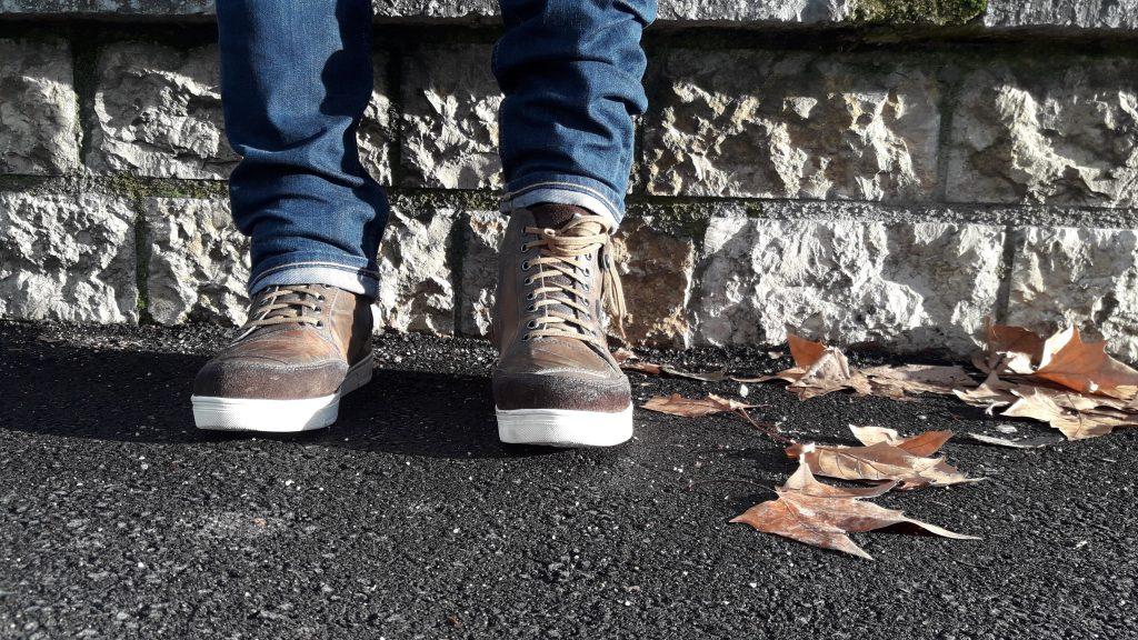 Et un certain look décontracté… avec les chaussures V Quattro X-Urban
