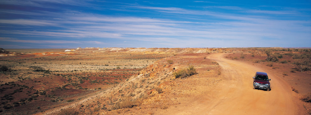 Breakaways, near Coober Pedy