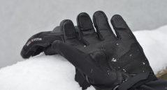 Dessous cuir fin pour les gants hiver Bering Kayak
