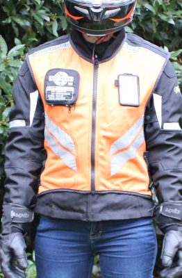 Gilet de sécurité ICON Mil Spec Instructor ici en orange