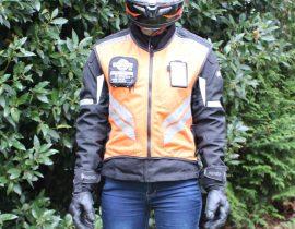 Gilet de sécurité ICON Mil Spec Instructor ici en orange