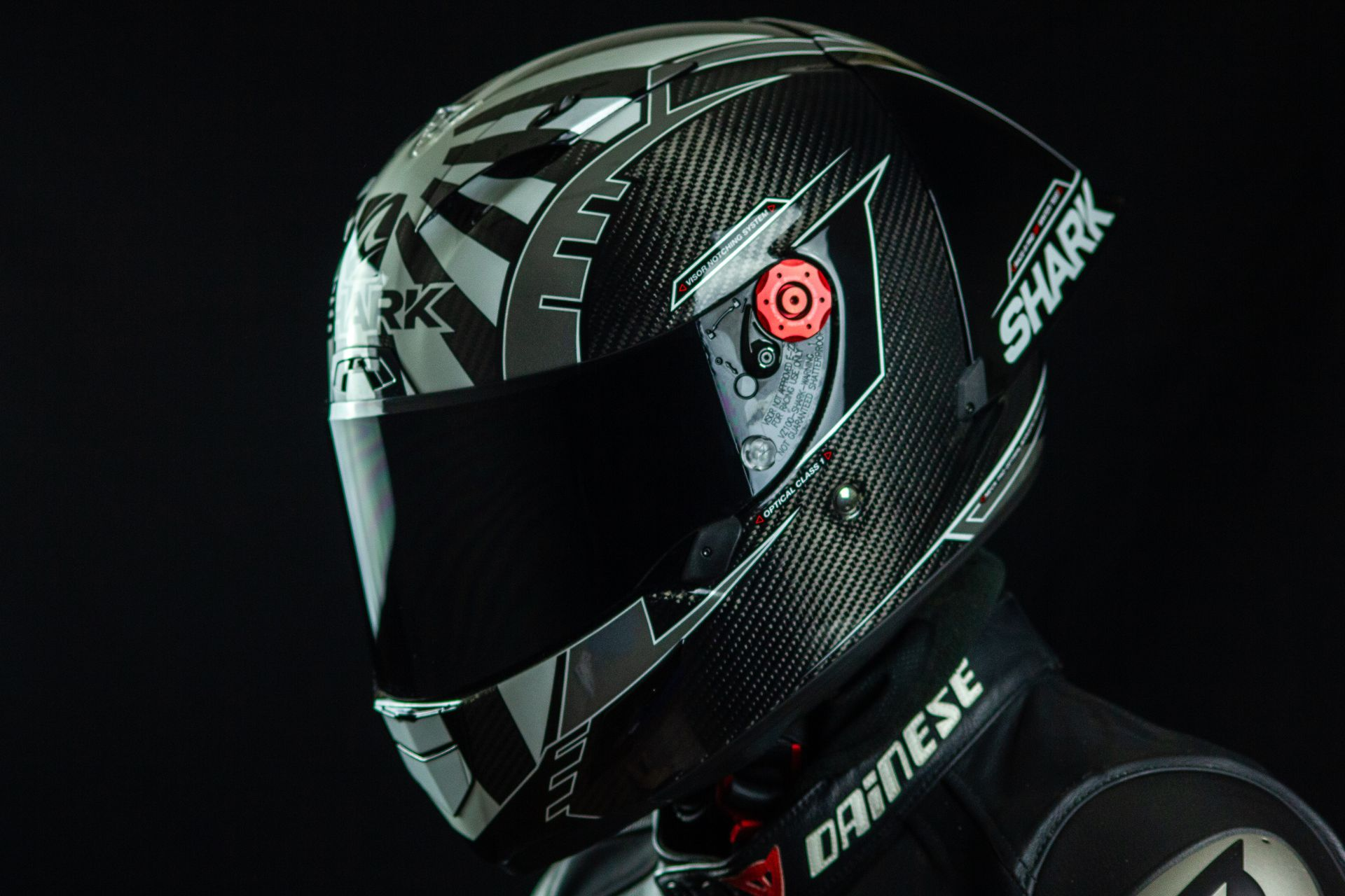 Profil aérodynamique du casque Shark Race-R Pro GP