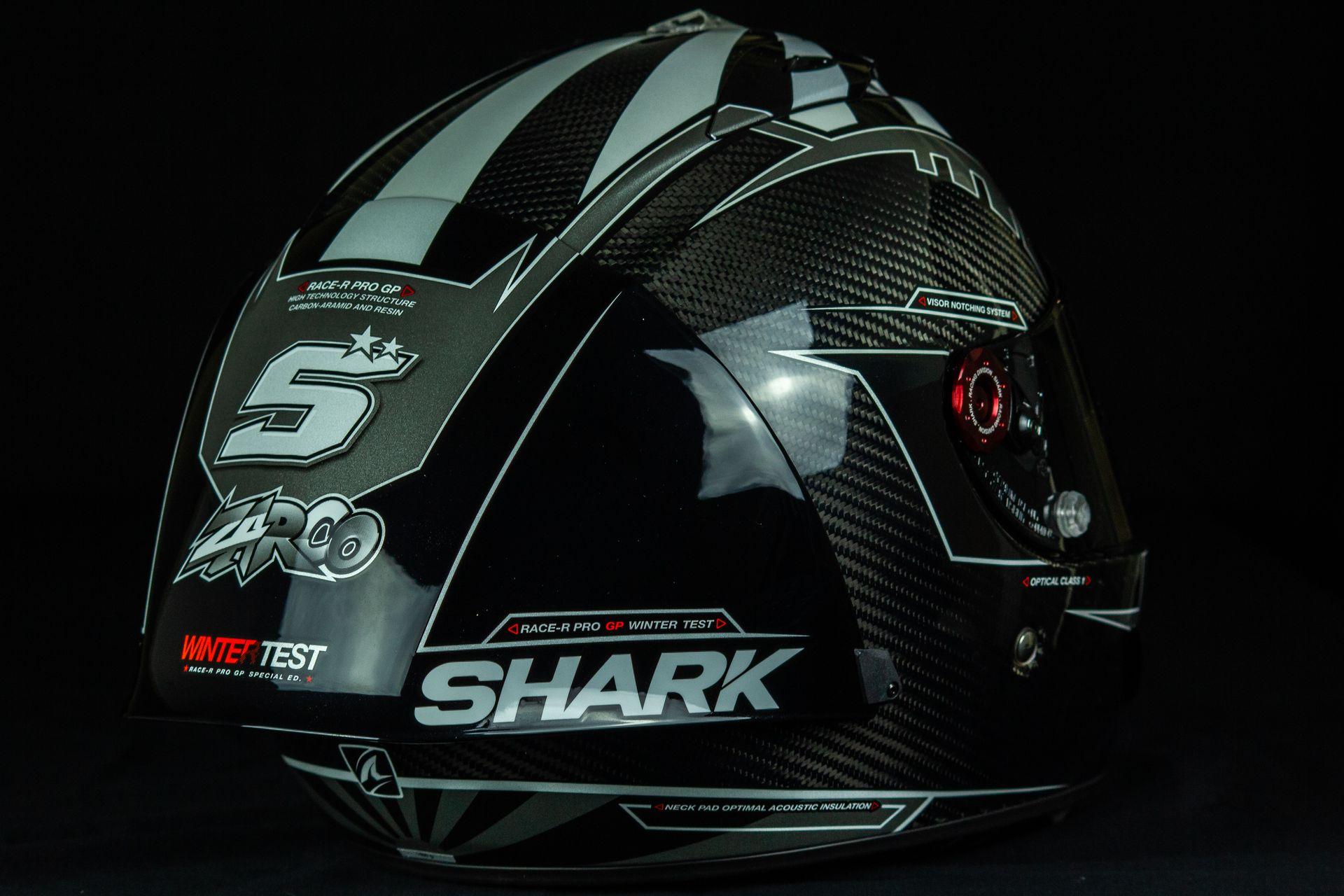 Spoiler arrière du casque Shark Race-R Pro GP...