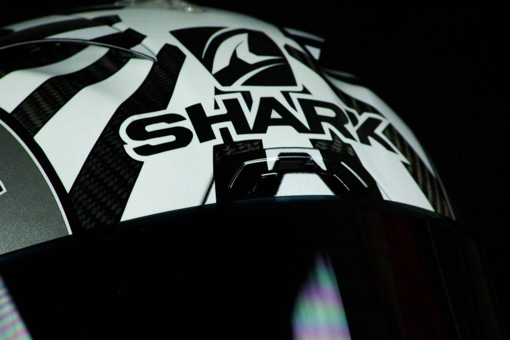 Ventilation frontale du casque Shark Race-R Pro GP