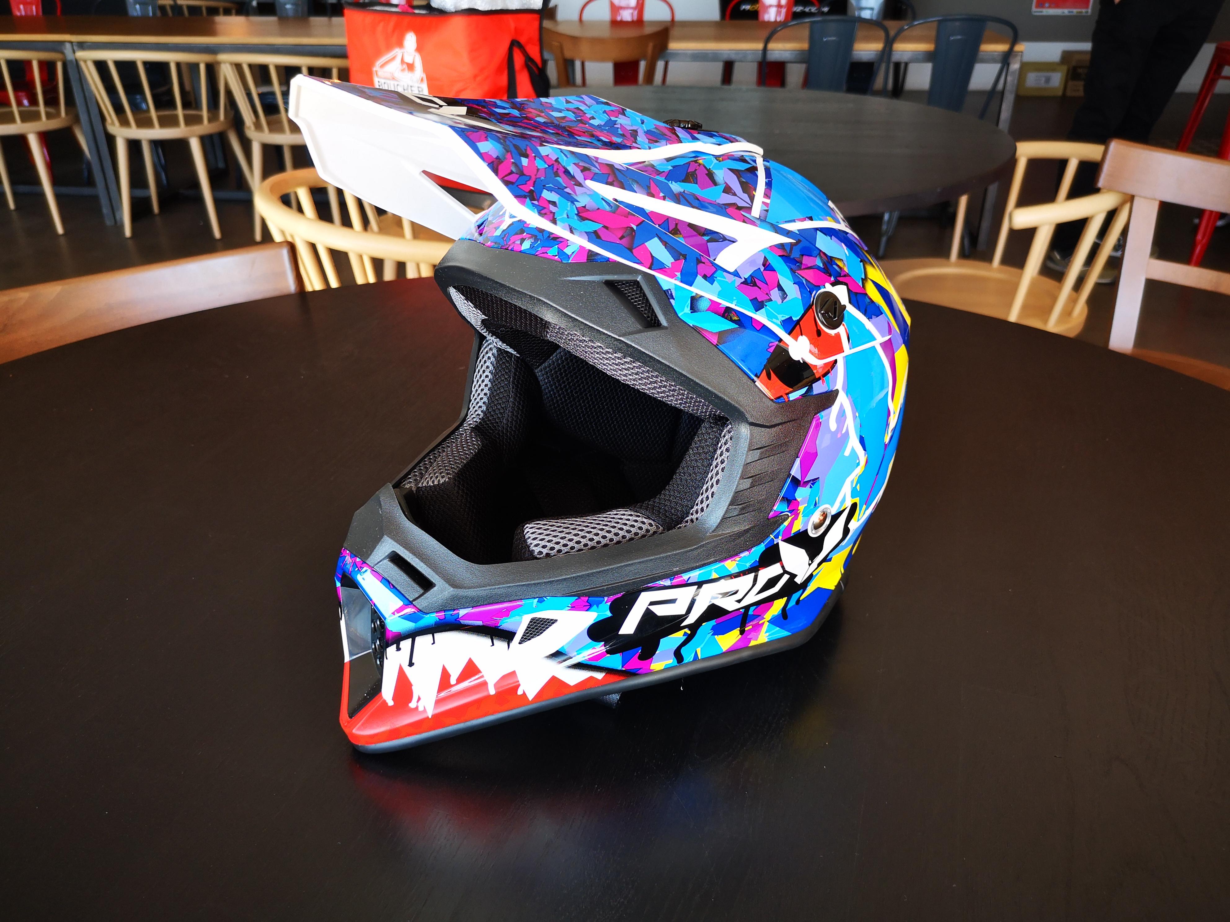 L'un des design gagnants du concours Pimp My Helmet