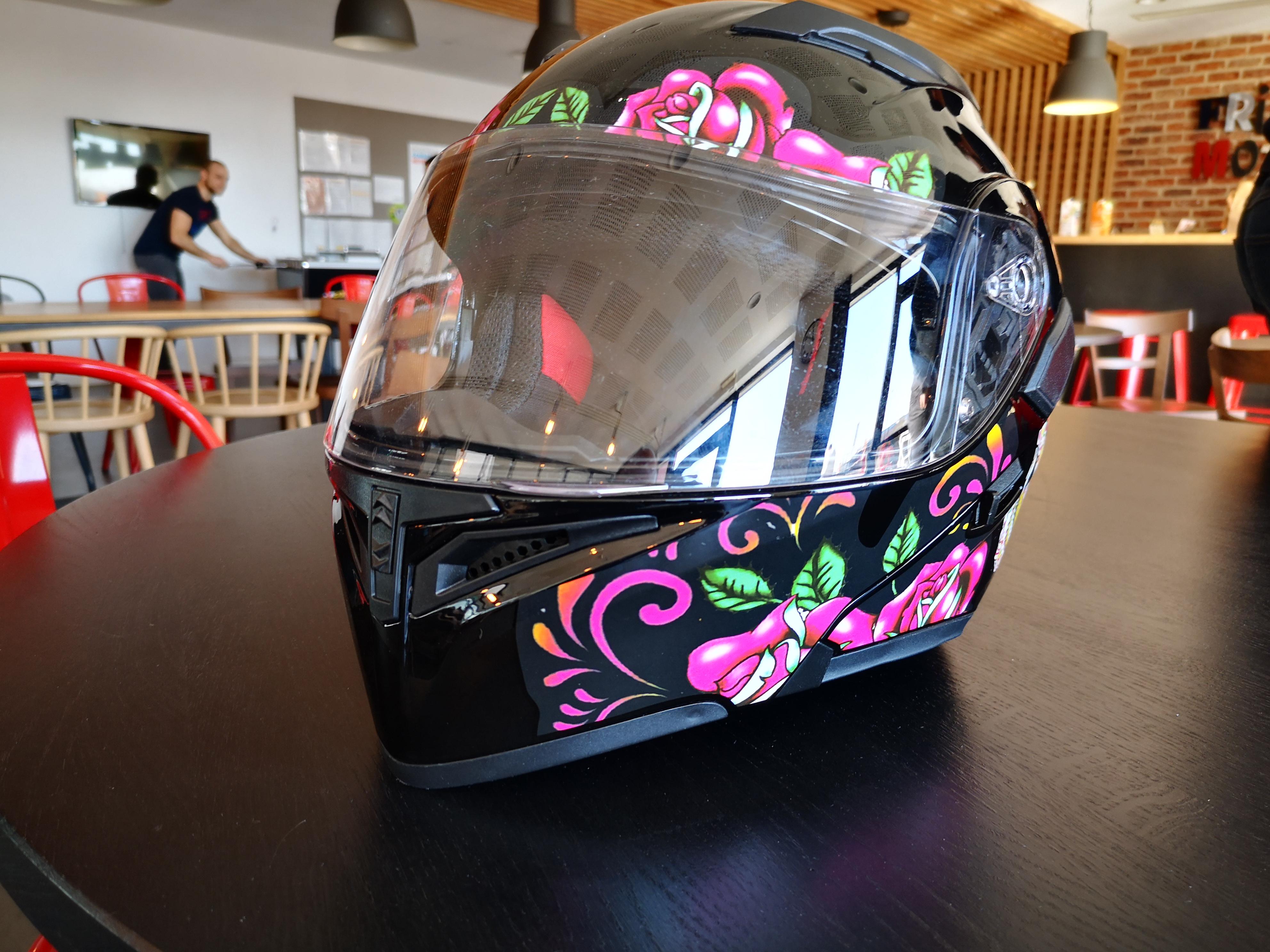 L'un des design gagnants au concours Pim My Helmet