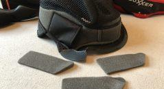 Intérieur démontable et ajustable pour le casque Boxxer