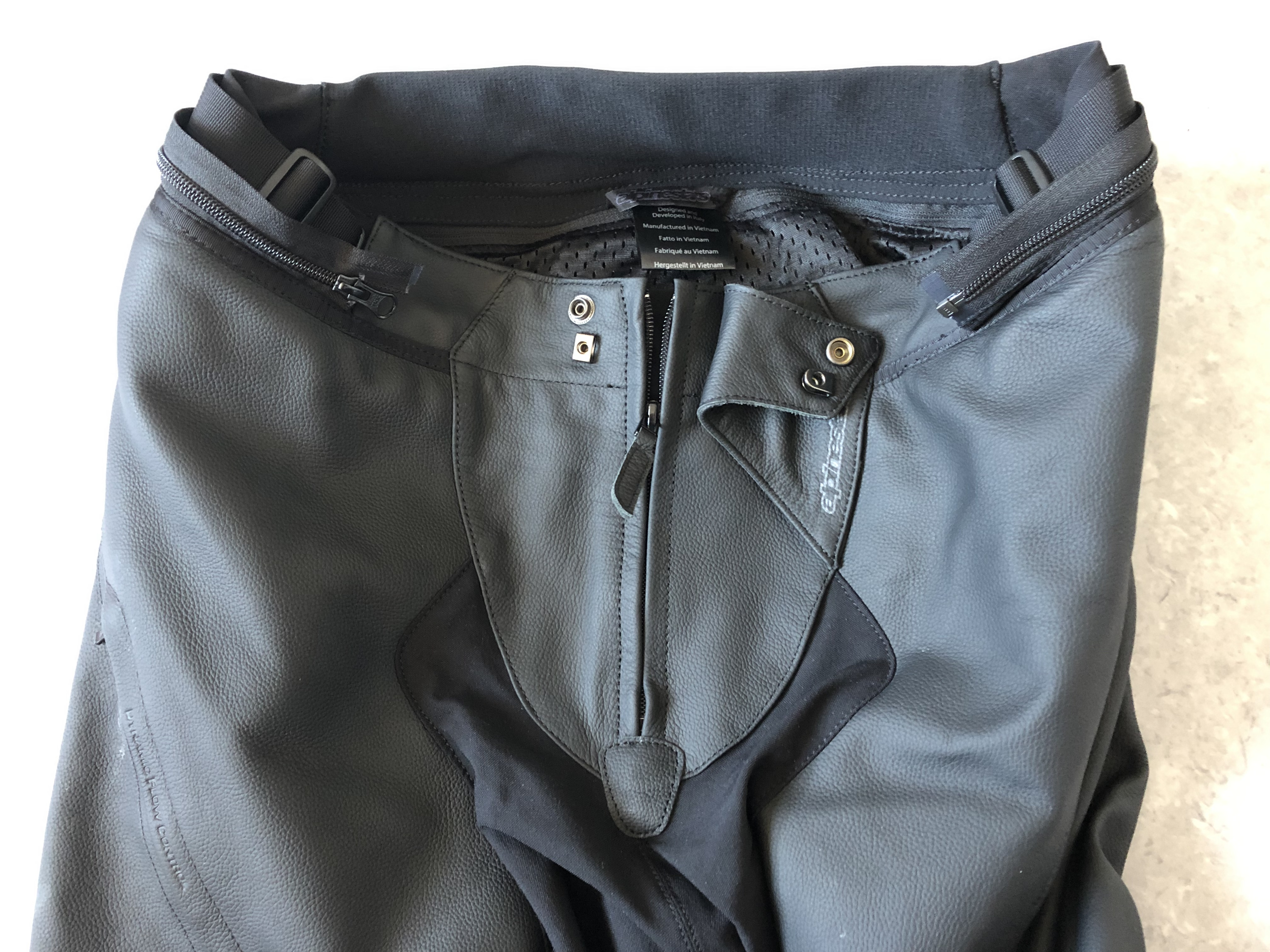 Système de fermeture du pantalon Alpinestars Missile V2