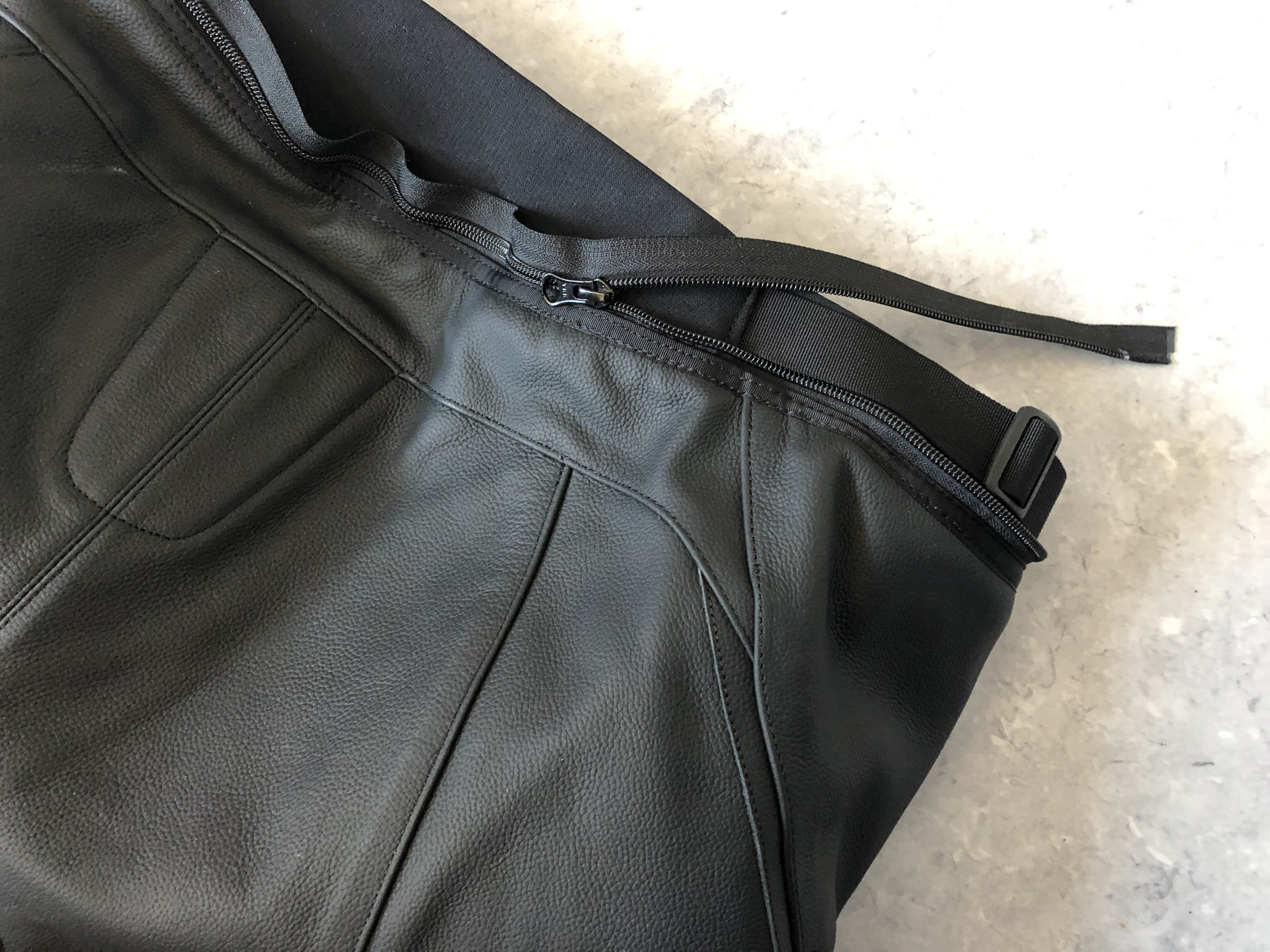 zip de raccordement au blouson du pantalon Alpinestars Missile V2