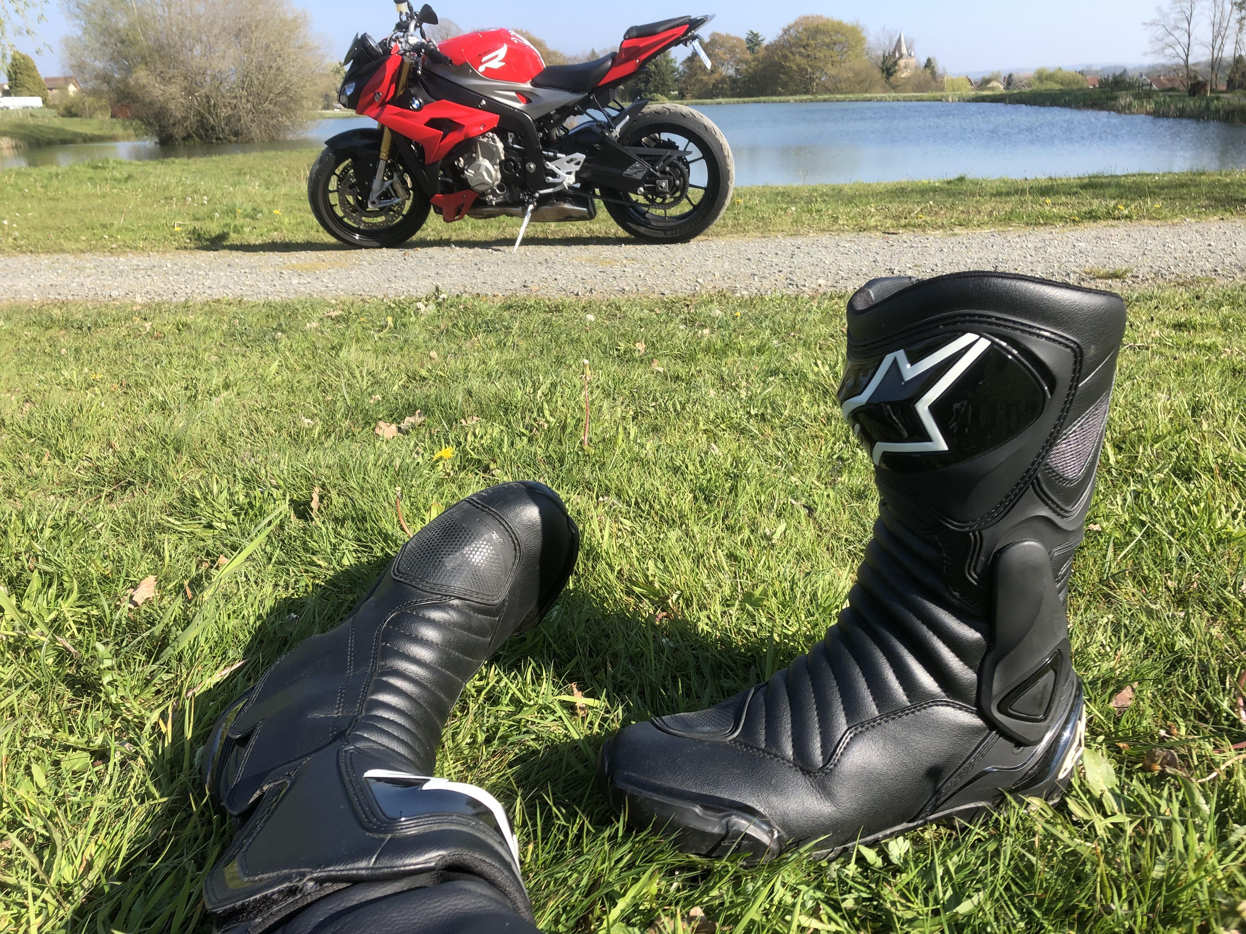 Focus sur les bottes Alpinestars SMX 6 V2