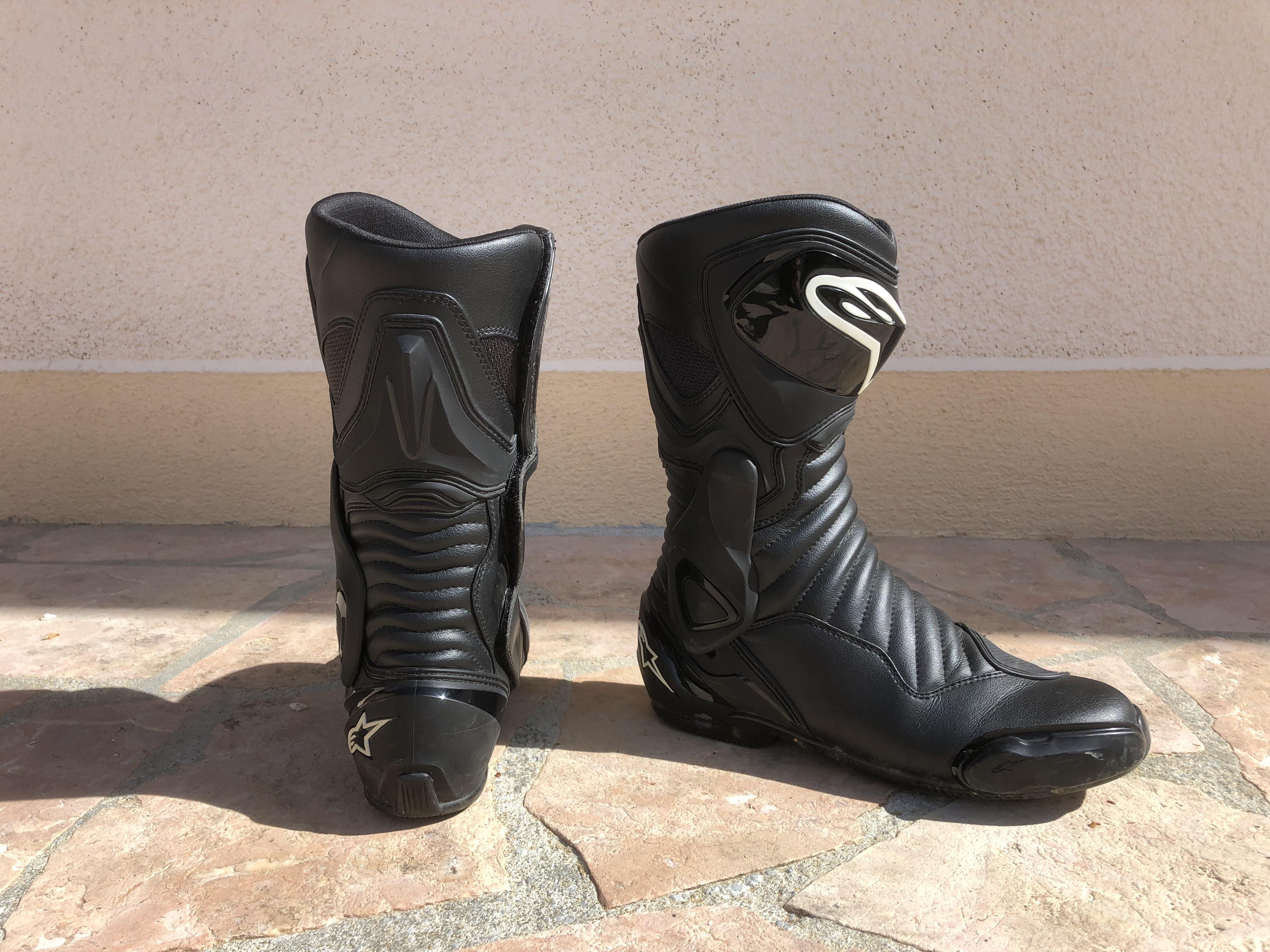 Protections des bottes Alpinestars SMX 6 V2