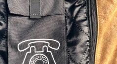 Panoplie de poches avec le blouson DXR D63