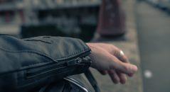 blouson cuir Furygan Buck : zip d'expansion aux poignets