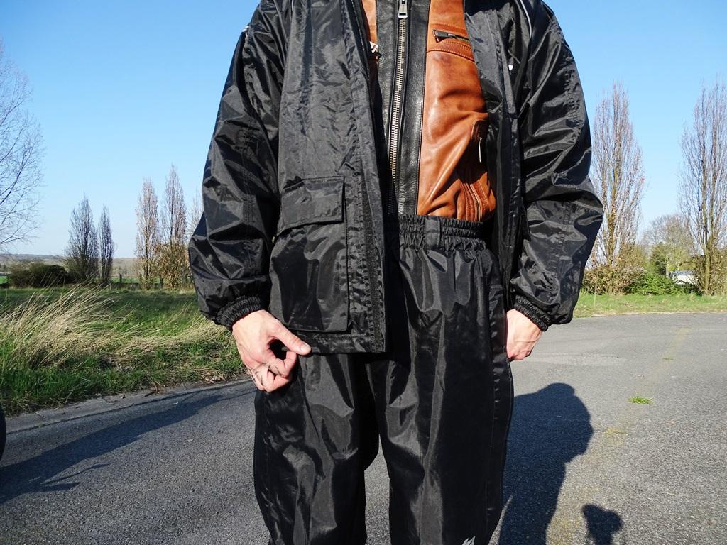 Ensemble de pluie DXR : veste et pantalon