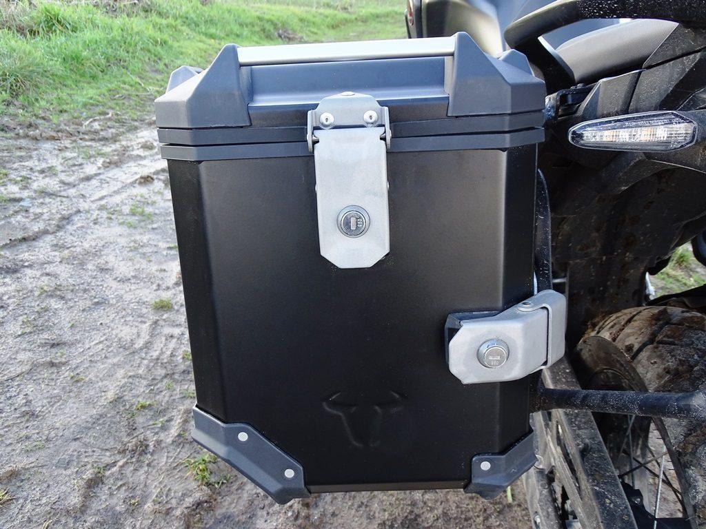 Verrouillage des valises SW Motech Trax Adventure
