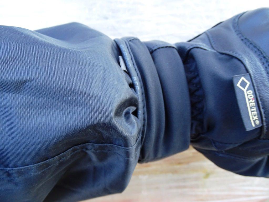 Manches élastiques de l'ensemble de pluie DXR