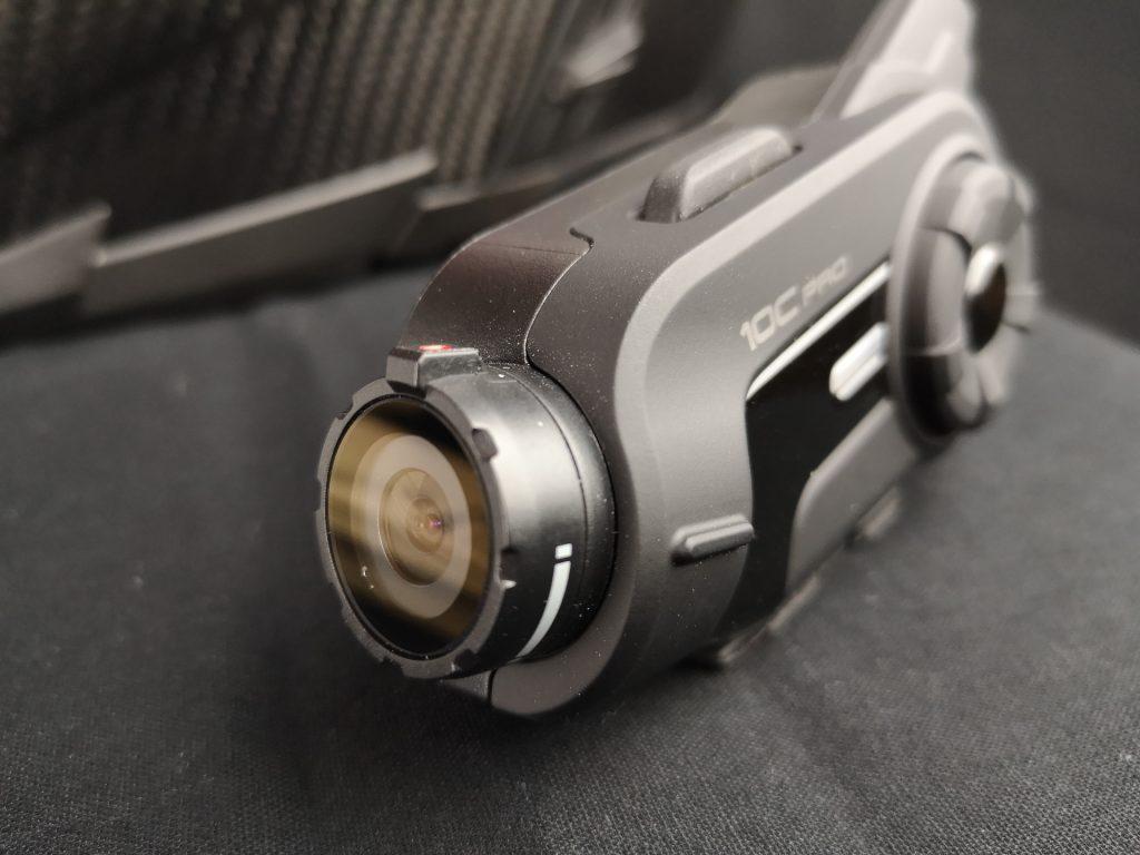 Objectif de la caméra embarquée Sena 10C PRo