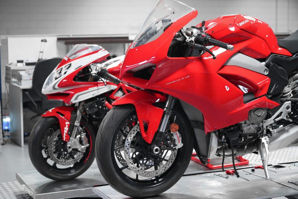 Ducati chez Valter Moto