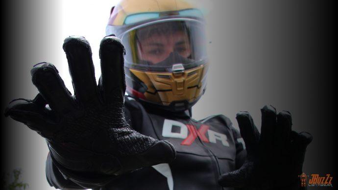 Inserts en silicone sur les gants DXR Curbstones