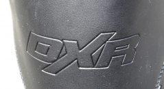 Logo DXR sur les bottes DXR PAN-AM