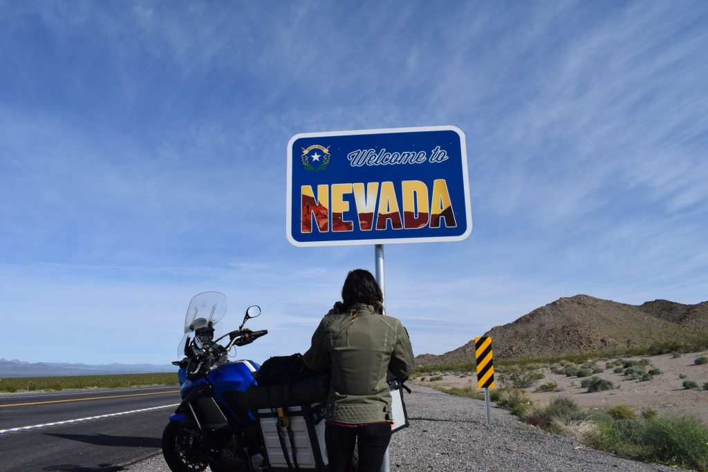 Road Trip vers le Nevada