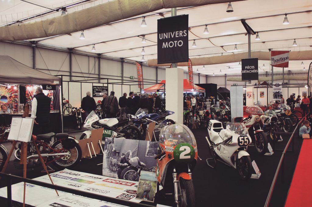 Des  modèles mythiques tels que la Honda CB Four et quelques autres raretés à deux roues comme les motos de courses régionales et les cafés racers anciens.