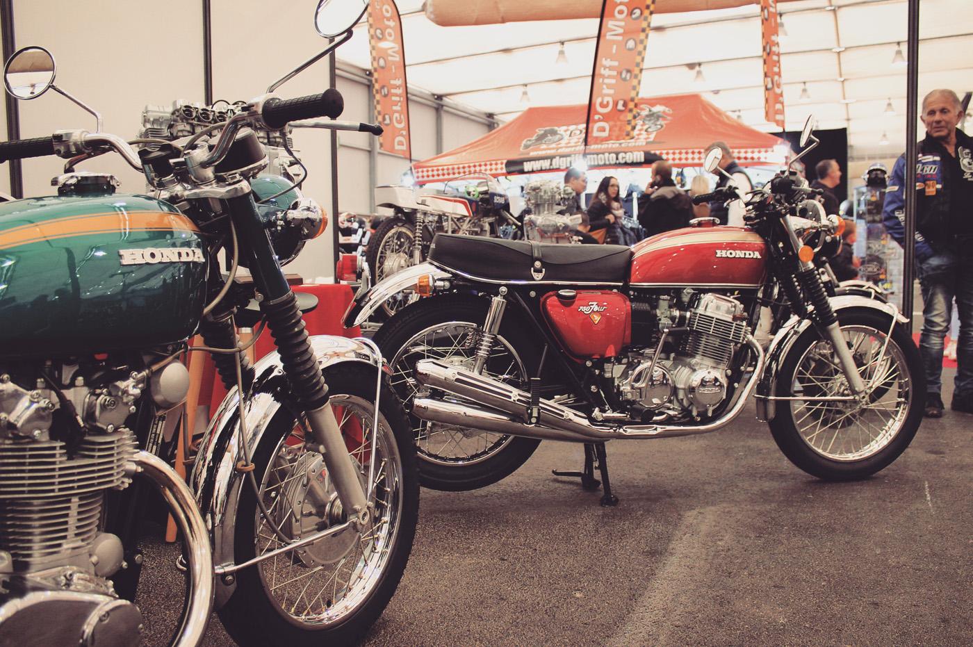 Des modèles mythiques tels que la Honda CB Four