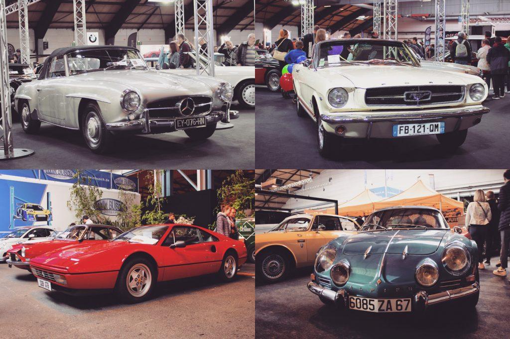 anciennes voitures allemandes, françaises, américaines…