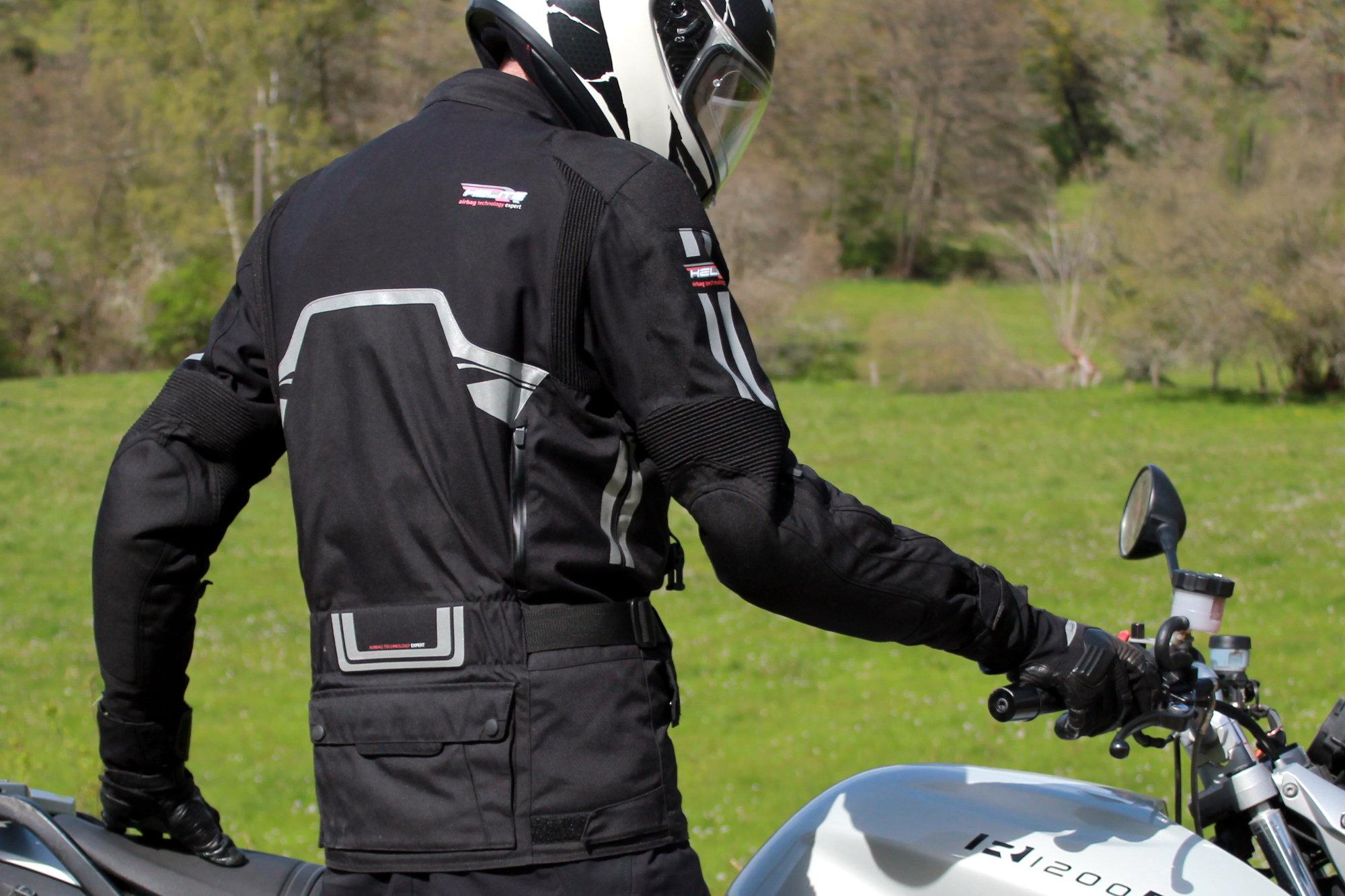 Dos Helite Touring 2 airbag moto