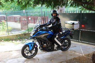 DXR Roadtrip à moto