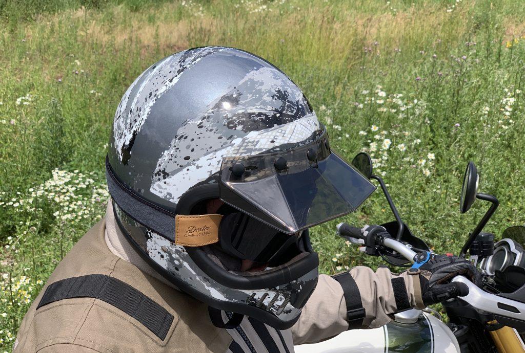 casquette amovible du casque Dexter Emmet Rosbif