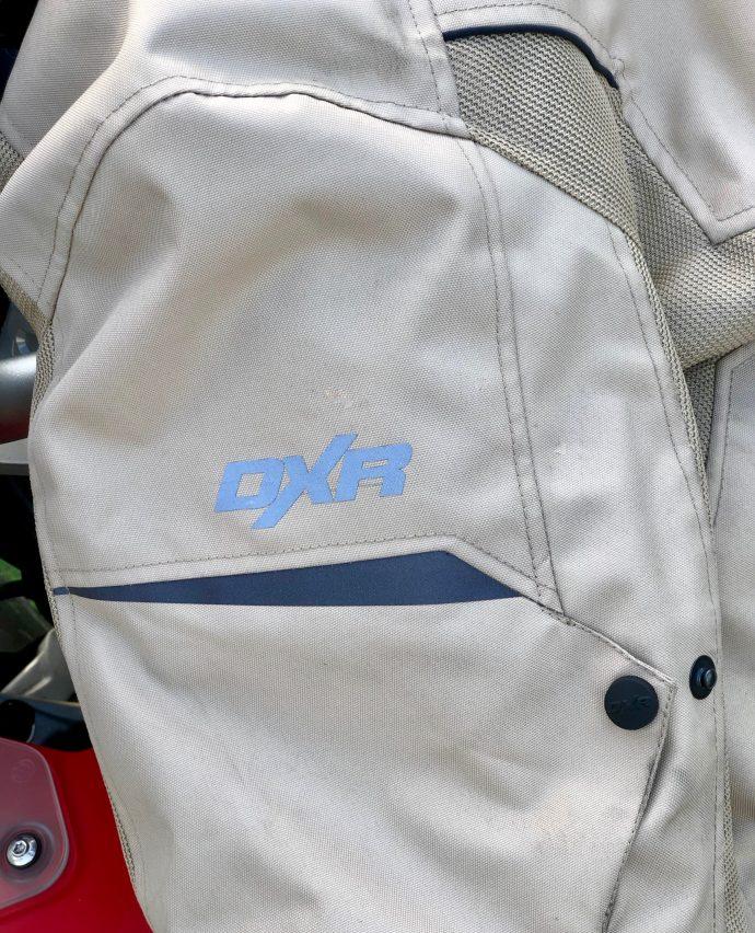 visibilité des manches blouson DXR R-Stroke