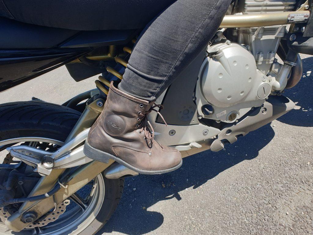 TCX Boots Lady Blend en action
