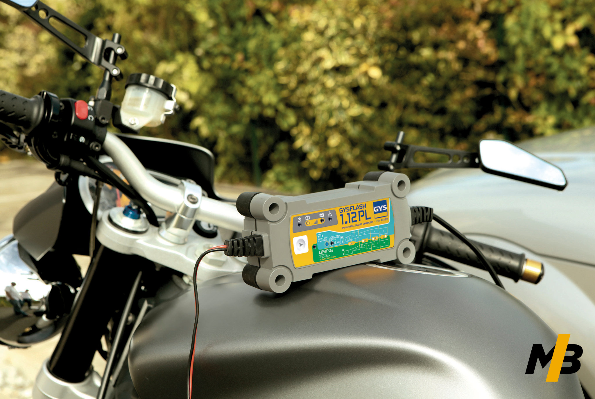 Chargeur de batterie moto GYS GYSFLASH 1.12 PL