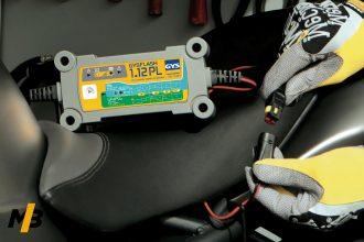 Branchement chargeur de batterie moto GYS GYSFLASH 1.12 PL