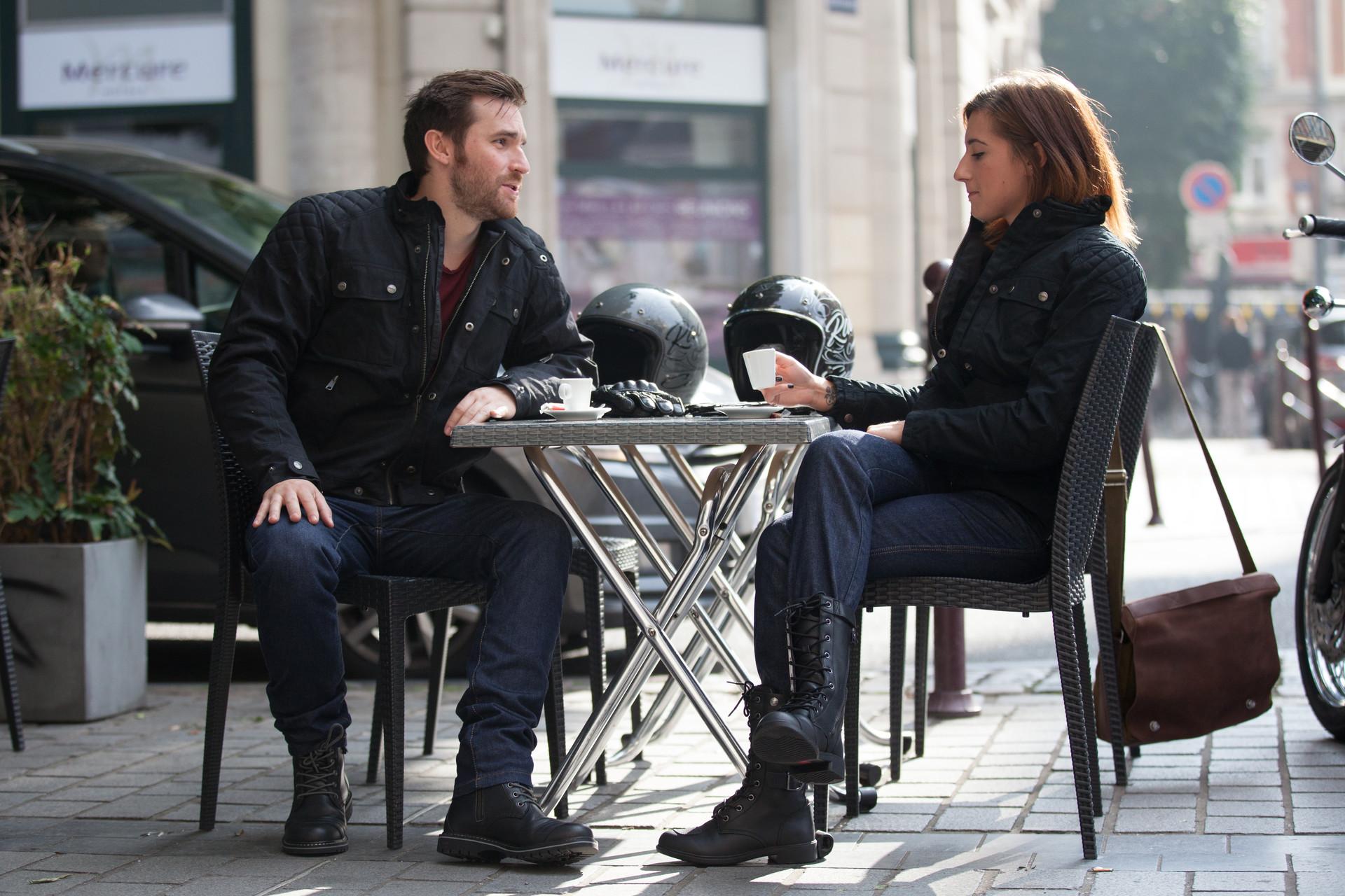 Jeans moto DXR Howell et Karen