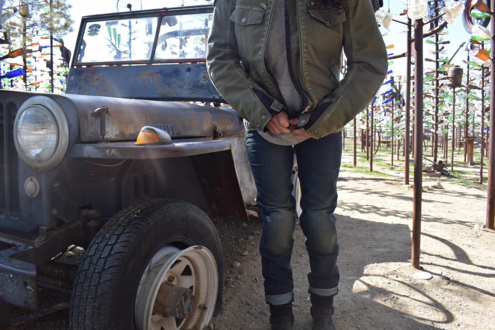 Protections de genoux jean helstons dena
