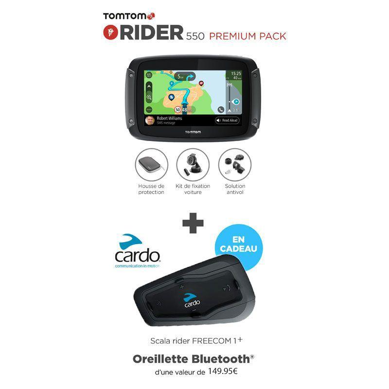 GPS Tomtom Rider 550 Prenium et Intercom
