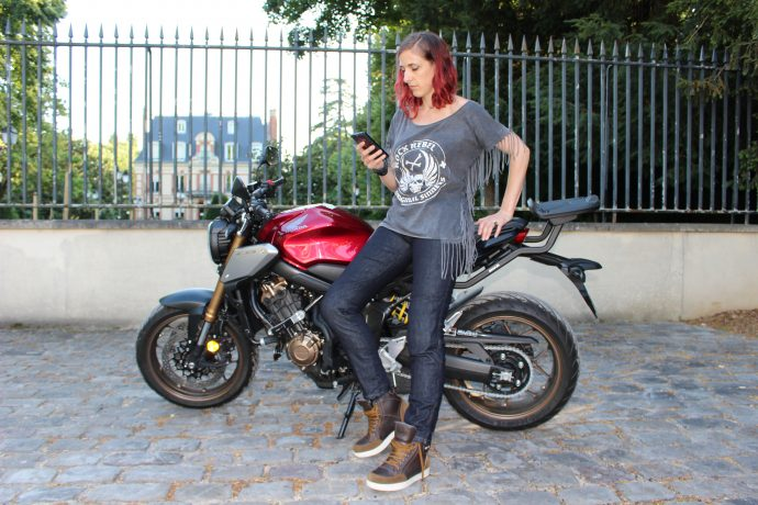 Essai du jean moto DXR Karen