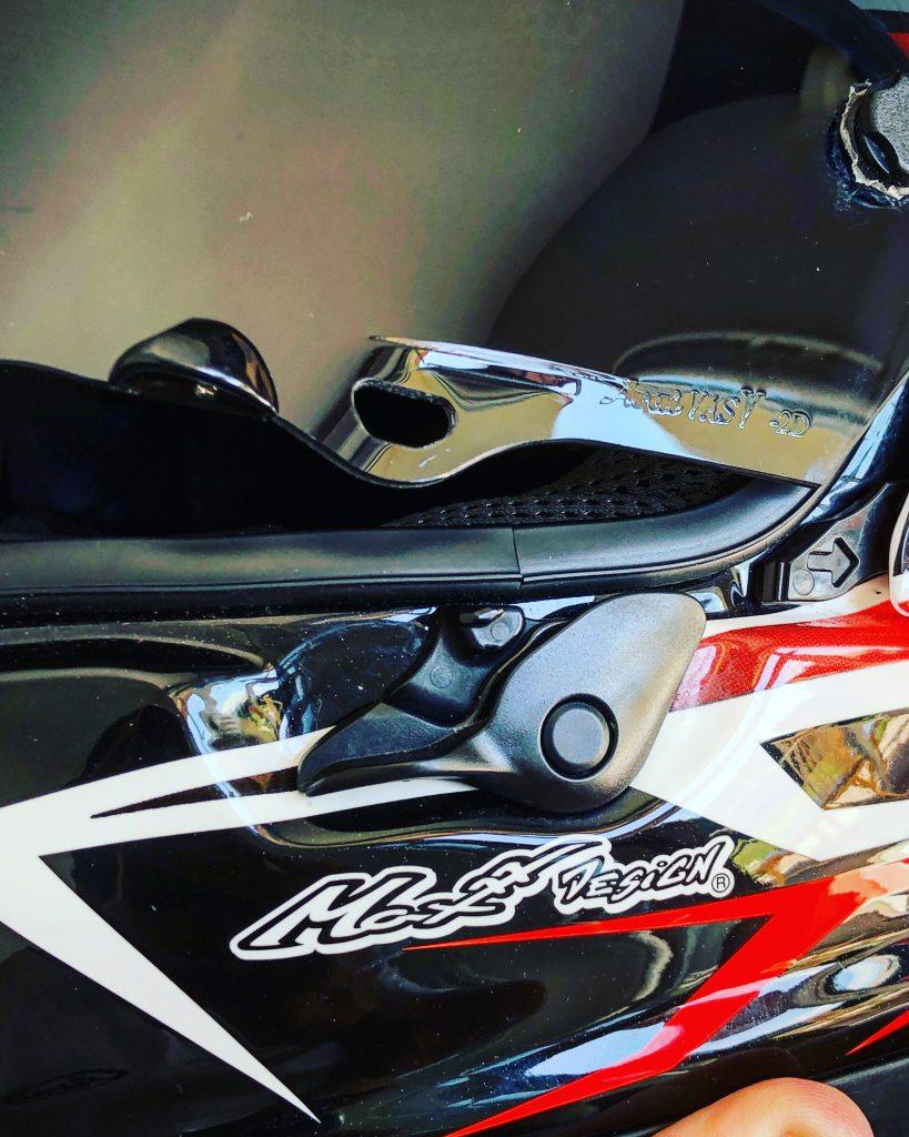 Focus sur le casque Arai RX7-V testé par Mika Giron