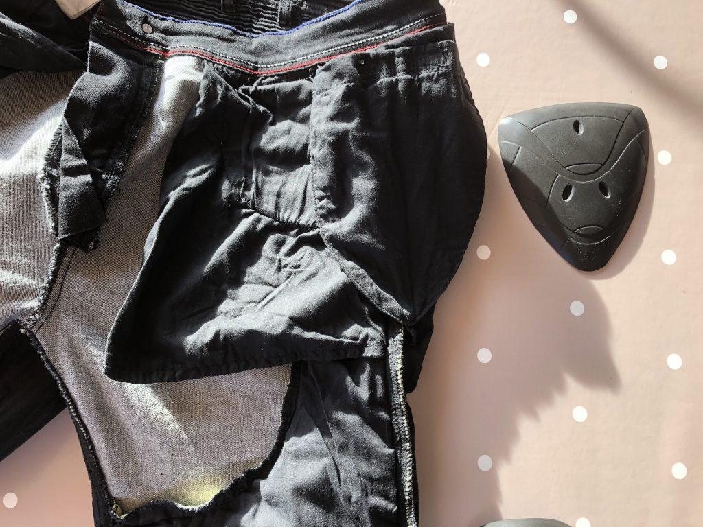 Jean DXR Kaptor – la poche pour la protection de hanches disponible en option